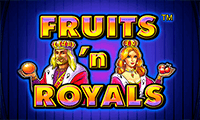 Игровой автомат Fruits and Royals в казино Вулкан